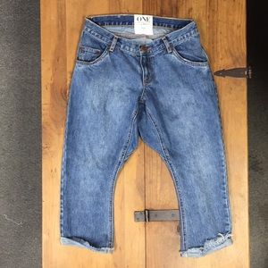 0627f19d Enormt Women Denim Drop Crotch Jeans on Poshmark FQ-19